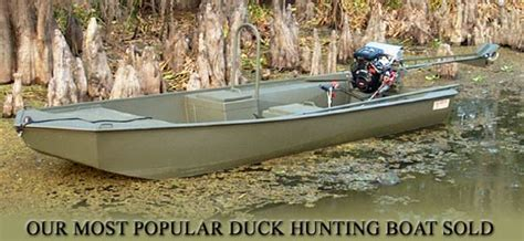 Go Devil Duck Hunting Boat by 16 X 44 Go Devil Duck Hunting Boat