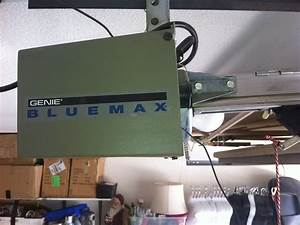 Genie Blue Max Garage Door Opener With Regard To