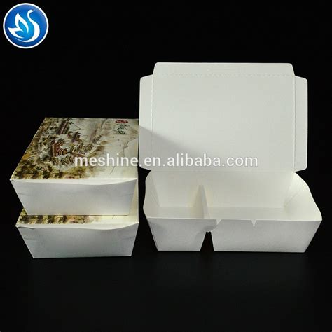 custom deliportable food kraft lunch box containerpla