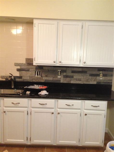 tile backsplash kitchen tired of tile add airstone backsplash for a 2740