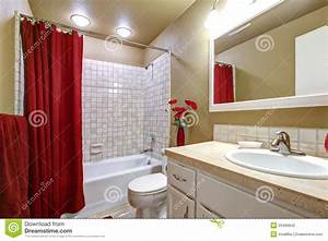 Salle De Bain Beige : emejing salle de bain rouge et beige photos awesome ~ Dailycaller-alerts.com Idées de Décoration