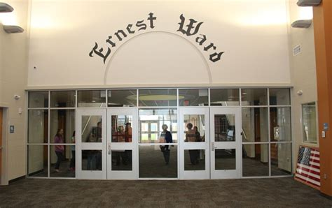 ernest ward middle school shows   facility