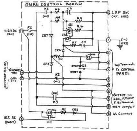 onan generator start switch wiring diagram wiring