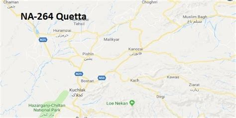 na  quetta election result  candidates  map