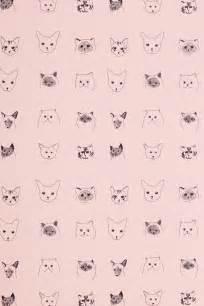 cat patterns 17 best ideas about cat pattern wallpaper on