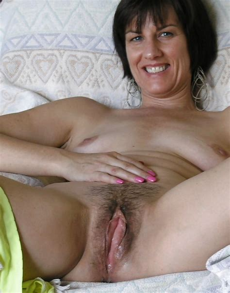 Busty Mature Hairy Pussy