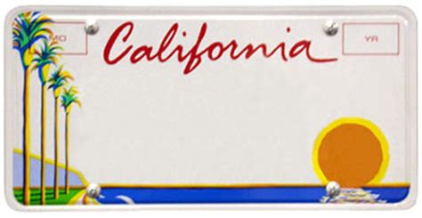 california license plate designs what is california license plate header font graphic