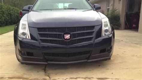cadillac cts plasti dip navy  black youtube