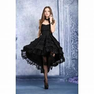 robe gothique romantique dark in love noir achat vente With robe gothique pas cher