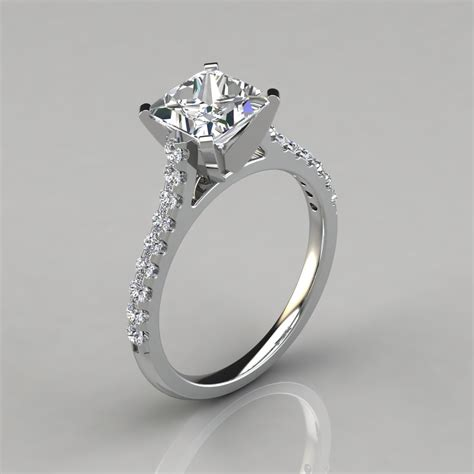 Tall Cathedral Princess Cut Engagement Ring  Puregemsjewels. Diamond Accent Rings. Authentic Vintage Engagement Rings. Flower Cut Wedding Rings. Engaged Engagement Rings. White Pukhraj Engagement Rings. 2.0 Carat Engagement Rings. Jewelry Design Rings. Fishing Hook Rings