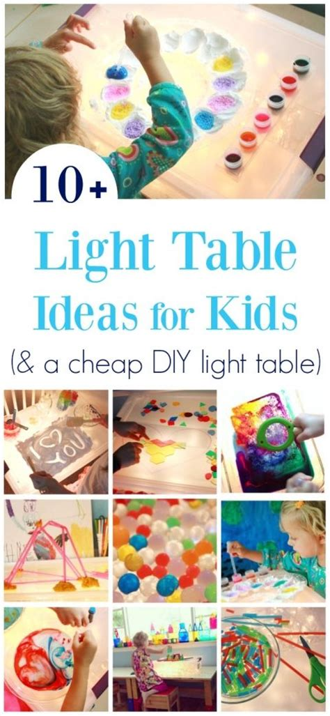 light activities 10 free and low cost ideas for