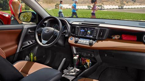 toyota rav4 interior 2017 toyota rav4 interior review