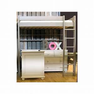 Hauteur Lit Mezzanine : lit mezzanine dominique hauteur 209 cm dissociable le ~ Premium-room.com Idées de Décoration