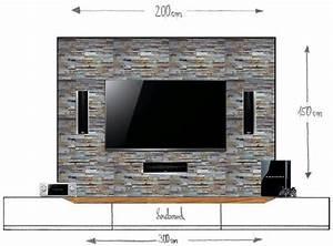 Fernseher An Die Wand : die besten 25 tv w nde ideen auf pinterest tv wandpaneel fernseh schr nke und tv ~ Bigdaddyawards.com Haus und Dekorationen