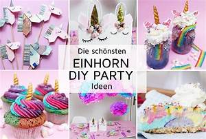 Diy Deko Ideen : 7 originelle einhorn party diy ideen zum selbermachen ~ Whattoseeinmadrid.com Haus und Dekorationen