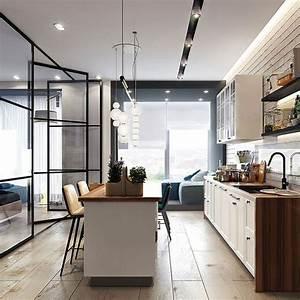 Come Arredare Una Casa Di 50 Mq  Ecco 5 Progetti Di Design Nel 2020
