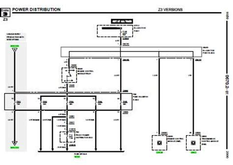 Z3 E36 Wiring Diagram by Repair Manuals Bmw Z3 2000 Electrical Repair