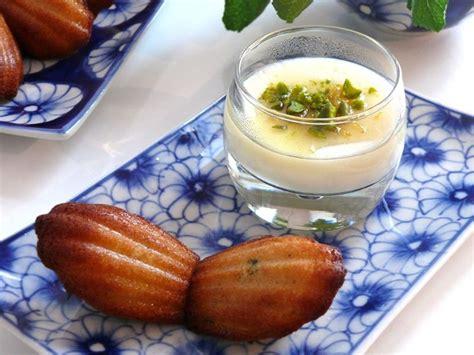dessert fleur d oranger mouhalabieh et madeleines 224 la fleur d oranger bee made
