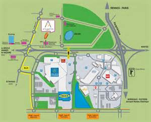 point mariage plan de cagne accès à l 39 hôtel hôtel atlantys herblain