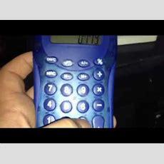Calculator Spelling Youtube