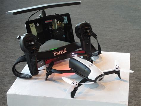 parrot bebop  drone  doubled  battery life wired