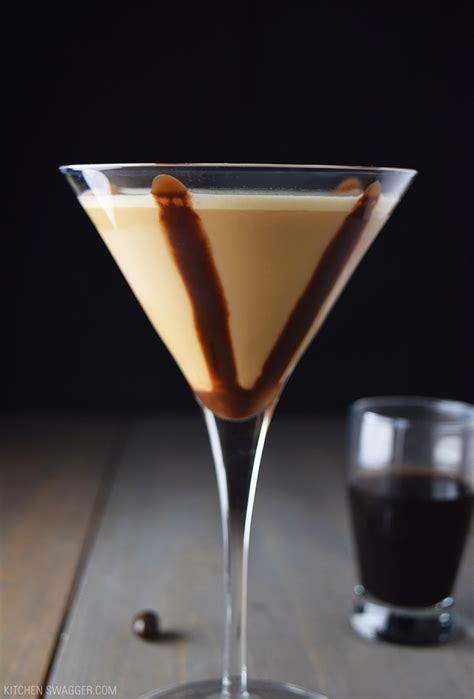 This incredibly simple cocktail is also incredibly delicious! Chocolate Espresso Martini Recipe   Kitchen Swagger