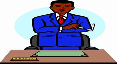 Clipart Office Administrator Principal Transparent Student Webstockreview