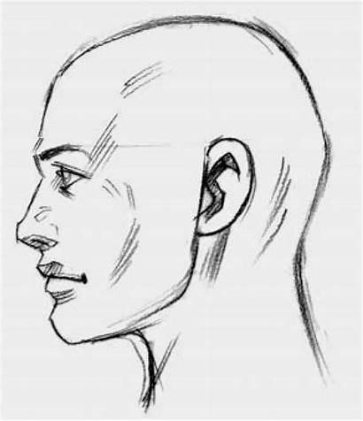 Drawing Sideways Face Head Drawings Figure Side