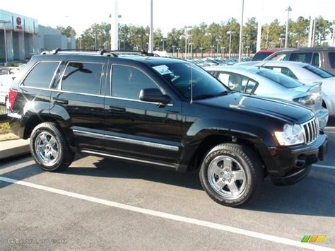 jeep limited 2006 2006 black jeep grand cherokee limited 4x4 26437137 photo