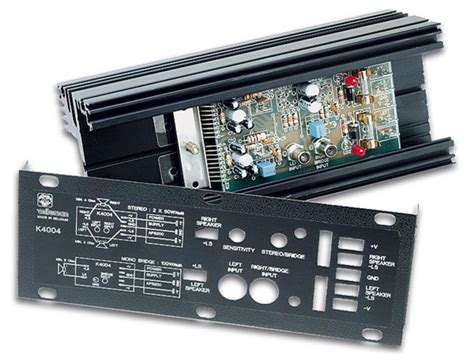 Mono Stereo Amplifier Velleman