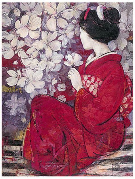 Asiatische Bilder Kunst by Pin By Dina On Asian Geisha S Reflection