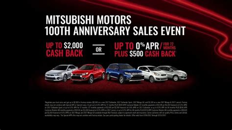 Mitsubishi Ad Song by Mitsubishi 100th Anniversary Sales Event Tv Commercial