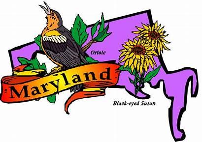 Maryland State Clipart Line Bathroom Ancestors Annapolis