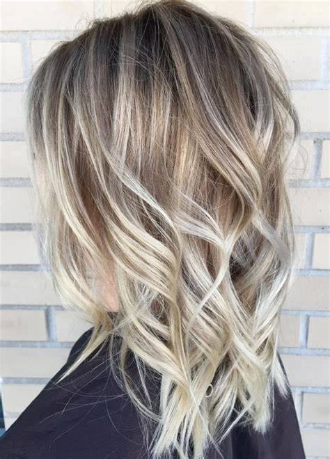 foilyage blonde balayage hair color ideas   womens
