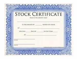 blank stock certificate template printable stock With blank share certificate template free