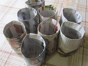 Hinterleuchtete Bilder Selber Machen : t pfe aus papier selber machen mein garten ratgeber ~ Lizthompson.info Haus und Dekorationen