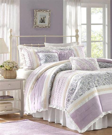 lilac sasha comforter set