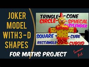 How To Make A  Ud83c Udccf Joker Model In 3d Shape For Maths Project