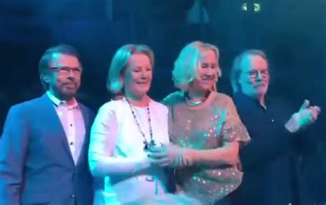 Abba Reunite For First Time In Eight Years