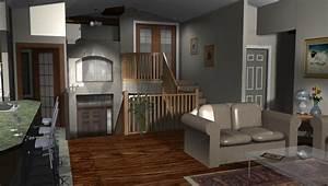 Bi level home entrance decor bi level house plans with for Bi level house interior design