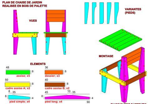 chaise en palette meuble en palette de bois plan mzaol com