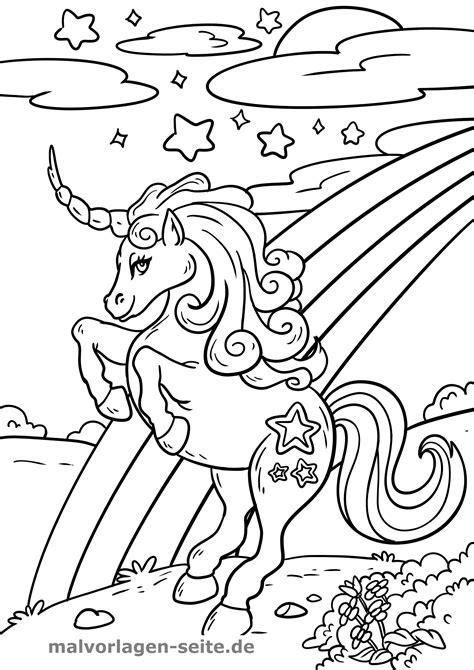 Kleurplaat Paarden Regenboog by Gratis Kleurplaten Regenboog