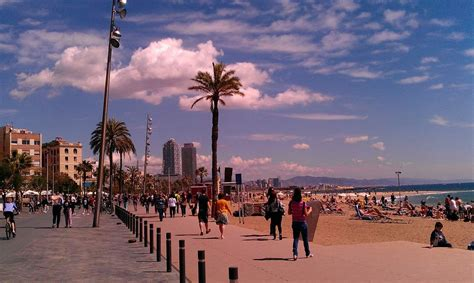 It Wasn't Suppose to Be a Nude Beach! Barcelona, Spain