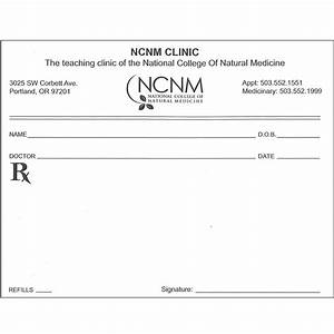 prescription pad nunm health centers With fake prescription pads