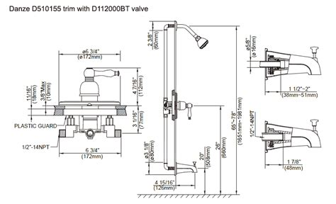 Pressure Balancing Shower Valves and Trim Kits by Danze