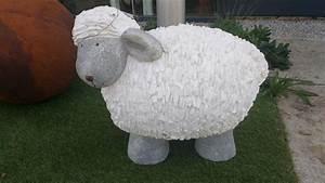 Objet Deco Exterieur : objet deco originale mouton pour exterieur la galerie alr enne ~ Carolinahurricanesstore.com Idées de Décoration