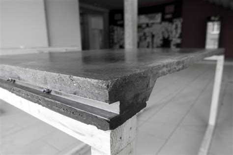 beton tische selbstgebaut beton cus