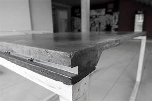 Beton Tisch Diy : beton tische selbstgebaut beton campus ~ A.2002-acura-tl-radio.info Haus und Dekorationen