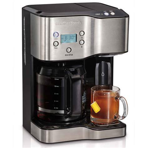 hamilton 12 cup coffee maker water dispenser