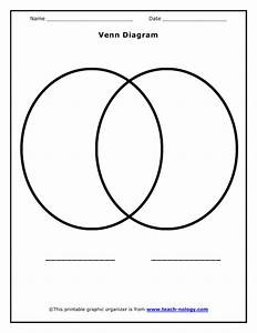 Printable Venn Diagram